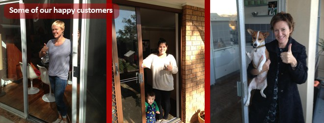 lane cove sliding door repairs