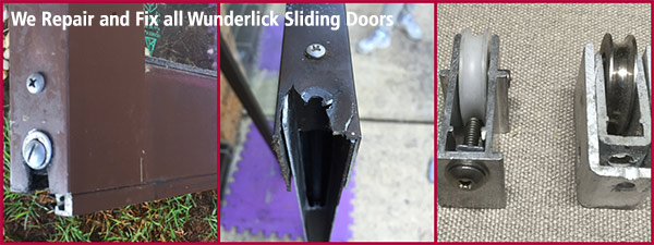 wunderlich sliding door repairs