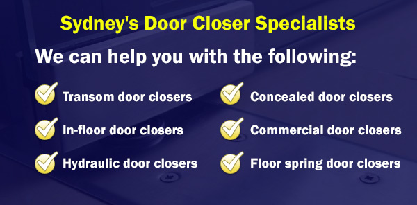 door closer specialists sydney