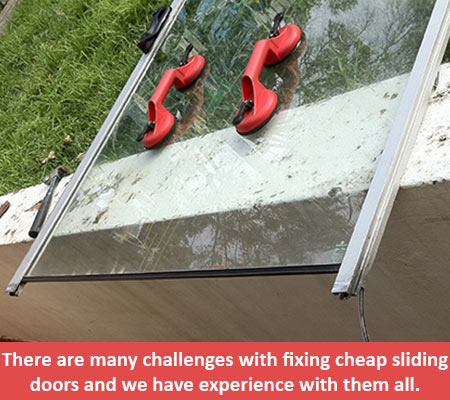 cheap sliding doors repairs replacements