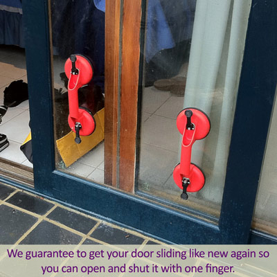 hornsby sliding door repairs