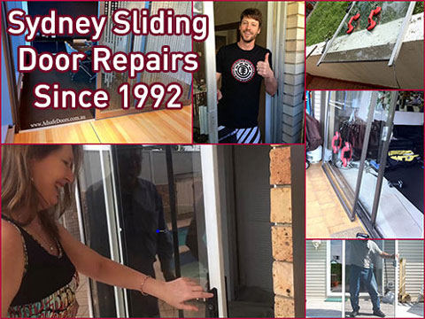 sliding door repairs in the Sutherland Shire sydney